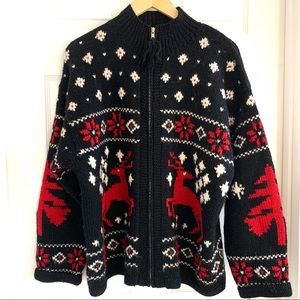 Lauren by Ralph Lauren Ugly Christmas Sweater (h)